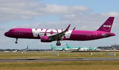 TF-CAT (Ken Meegan) Tags: tfcat airbusa321211sl 8104 wowair dublin 2262018 airbusa321 airbus a321211sl a321