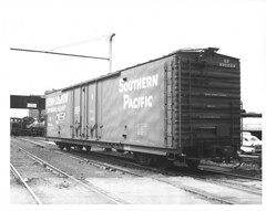 6100001 (barrigerlibrary) Tags: acf americancarandfoundry box car sp ssw cotton belt southernpacific