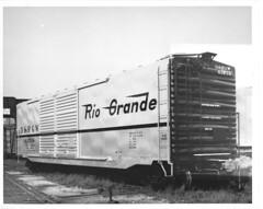 6129001 (barrigerlibrary) Tags: acf americancarandfoundry denverandriogrande drgw box car