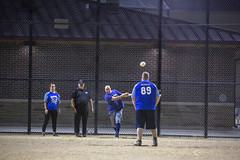 Oak Lawn Softball Game (Rick Drew - 21 million views!) Tags: softball oaklawn il illinois diamond dust centennial park ball game sports evening night canon 5d mkiii 70200