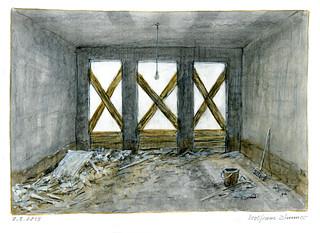 Wofram Zimmer: Clean-up work - Aufräumarbeit