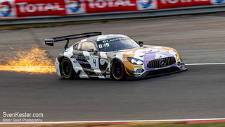 Total 24 Hours of Spa 2018 - Sparks on Eau Rouge