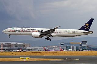 Saudia - Saudi Arabian Boeing 777-368(ER) HZ-AK28 FRA 09-08-18