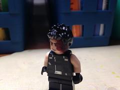 "Minifigures #21 ""Tommy Merlyn"" (-InsomniCat-) Tags: lego green arrow tommy merlyn dark archer dc comics"