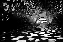 Spot-on (*Chris van Dolleweerd*) Tags: street streetphotography urban architecture woman bridge chrisvandolleweerd fujifilmx100s light