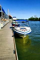 Cannon-Edits1 (gitanjali.cannon14) Tags: american river sacramento golden hour boat dock summer