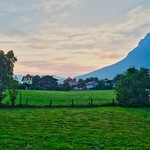 Early summer morning in Kiefersfelden with Kaiser mountains, Bavaria, Germany thumbnail