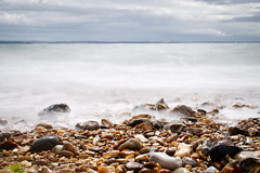 The Beach at Southsea (nickcoates74) Tags: a6300 ilce6300 portsmouth sony hampshire uk southsea shingle pebbles longexposure affinityphoto solent