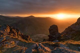 'Mountain Light' - Pen Yr Ole Wen, Snowdonia