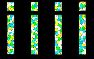 PUERTO DE LA CRUZ PUNTA BRAVA TENERIFE PARROQUIA SANTA RITA STAINED GLASS WINDOWS
