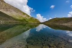 Lac de l'Eychassier-Queyras-2 (jluclac) Tags: ciel cloud eau france french lacdeleychassier lacs landscape montagne mountain nuage paysages queyras reflets sky water reflected