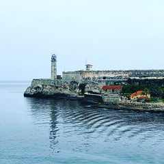 Havana Cuba 2018 - 10 (Marion J. Ross) Tags: 2018 cuba farocastillodelmorro havana morrocastle cameraphone iphone iphone8plus lighthouse water lahabana cu