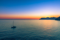 A bit different sunset pic from Manarola (holecem) Tags: manarola cinqueterre italy italia backpacking hike landscapephotography