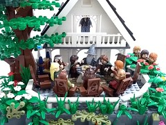 Lord of the Rings - Concil of Elrond (Paolo Enrico (Fantu)) Tags: lotr lego lordoftherings concilofelrond lugbrasil
