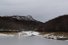 Neu a Santa Fe (Hachimaki123) Tags: paisaje landscape montseny parcnaturaldelmontseny santafe santafedelmontseny neu nieve snow lesagudes