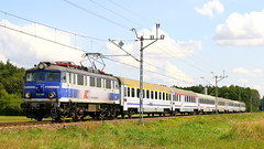 EU07-055, Pludry, 16.08.2018 (Marcin Kapica ...) Tags: eu07 pkp ic kolej bahn railway rail railroad lokomotive locomotive