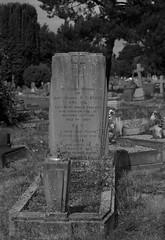 Grave of Lieut-Colonel R C Byrne (IanAWood) Tags: bringoutthedead cemeteryclub citiesofthedead graveyards headstonehunting lbofrichmond londonsdead londonsnecropolis londonsvictoriancemeteries nikkorafs58mmf14g nikondf twickenham twickenhamburialboard twickenhamcemetery walkingamongstthedead walkingwithmynikon