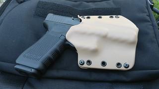 Phalanx Defense Stealth Operator OWB Holster with Gun