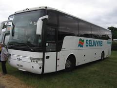 Selwyns Travel 49 (SEL133) 19062018 (Rossendalian2013) Tags: royalcheshireshowground tabley bus selwynstravel ratp coach daf sb4000 vanhool alizee sel133