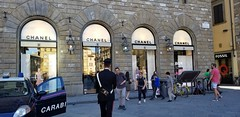Fancy Windows (Helenɑ) Tags: window windows building florence italy tuscany chanel store