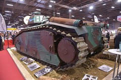Renault char B1 bis (pontfire) Tags: renault char b1 bis 105cm leichte feldhaubitze 183 sf auf geschützwagen b2 panzerkampfwagen rétromobile 2018 tank panzer guerre war seconde mondial armée française french army worldwartwo worldwarii wwii retromobile expo porte de versailles