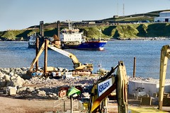 AHEP Nigg Bay - Aberdeen Harbour Scotland - 21/6/2018 (DanoAberdeen) Tags: buildingsite worksite dredging dredger torry cornelislely dragados niggbay cosnstruction danoaberdeen 2018 amateur candid ahep aberdeen grampian scotland tug seafarers workboats maritime harbour ships vessels boats blue offshore psv oilships oilrigs clouds northsea northeastsupplyships northseasupplyships scottishwater geotagged metal sealife lifeatsea autumn summer winter spring seaport aberdeenharbour aberdeenscotland sky water abdn abz nikond750 fittie footdee tugboat cargoships anchorhandling cloud porn navigation shipping vessel boat ship sea oil industry pocraquay supplyships northeastscotland shipspotting