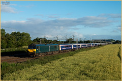 Solstice Sleeper (Resilient741) Tags: class 92 dyson caledonian sleeper livery gbrf loco locomotive electric rugeley trent valley wcml west coast main line railway railways railroad train trains