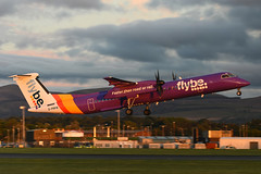 G-PRPG DHC-8-402 EGPH 03-08-18 (MarkP51) Tags: gprpg dehavilandcanada dhc8402 dhc8 dash8 flybe be bee edinburgh airport scotland edi egph turnhouse airliner aircraft airplane plane image markp51 nikon d7200 aviationphotography sunshine sunny nikon70200f4