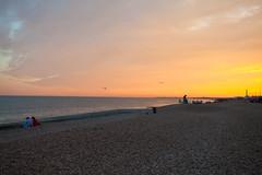 Sunset @ Kent Coast (Adam Swaine) Tags: kent coastal kentcoast coast beach shingle sunset sunsets england english seascape seaside summer uk ukcounties north canon beautiful britain british dusk