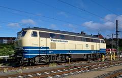P1610838 (Lumixfan68) Tags: eisenbahn loks dieselloks baureihe 218 conny deutsche bahn db regio westfrankenbahn