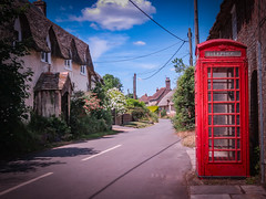 Phonebox Road (sarahrumble18) Tags: landscape beauty vintage street telephone box