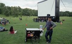 prospect park - film night (triebensee) Tags: nikon f2 nikkor 28mm f28 ais fujicolorc200 epsonv700 selfdeveloped cinestill c41