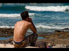 Musing (Stuart-Lee) Tags: espana spain tenerife man shirtless chest surfer