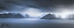 Eysturoy above Djúpini (►►M J Turner Photography ◄◄) Tags: djúpini eysturoy kalsoy atlanticocean faroeislands scandinavia europe stormy storm ocean sea seascape