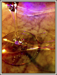 Dinning at the Juniper (Bob R.L. Evans) Tags: vivid psychedelic wineglass drink unusual lighttrails composition minimalism imperfect wineglassstem thejunipercodywyo