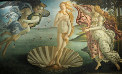 And of course, Botticelli's Birth of Venus. (Historical Dilettante) Tags: florence firenze renaissance botticeli uffizi