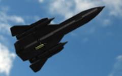 Bomb Away (John Moffatt) Tags: lego plane depth field focus bomb nuclear sr 71