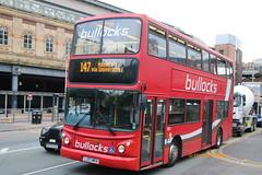 Bullock, Cheadle 11 (LJ03 MKA) (SelmerOrSelnec) Tags: bullock cheadle daf db250 alexander lj03mka manchester fairfieldstreet 147 arrivalondonnorth bus
