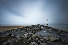 Merging (Lukasz Lukomski) Tags: morning lighthouse newbrighton wirral uk greatbritain unitedkingdom england groyne sea tide mersey merseyside beach landscape longexposure nikond7200 sigma1020 lukaszlukomski