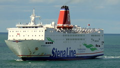18 08 10 Stena Europe arriving Rosslare (13) (pghcork) Tags: stenaline ferry ferries carferry stenaeurope ireland wexford rosslare ships shipping