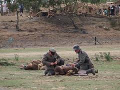 YWE2018 (clarks666) Tags: reenactors warfare history military conflict war 20thcentury german british infantry uniform ww1 centenial ywe2018 army