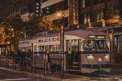 San Fransisco , California (Davidpaez27) Tags: sanfransisco california transport muni night nighshoot longexposition