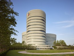 CJ Blossom Park, South Korea (1992 since) Tags: cannon design korea cj biotechnology pharmaceutical