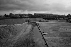 Lonely Worker (RadarO´Reilly) Tags: bochum westpark nrw landschaft landscape ruhrgebiet ruhrpott schwarzweis blackwhite blanconegro monochrome noiretblanc zwartwit