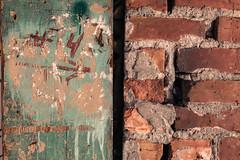 #4 (KurtClark) Tags: seattle washington unitedstates us 4 four brick decay paint georgetown