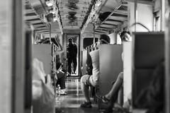 Journey thru time (sorn1200gs) Tags: monochrom street elmarit thailand trainride bangkok