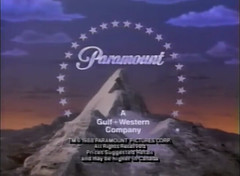 Paramount Pictures (1988, w/ copyright stamp) (lukehtheclosinglogodude1999) Tags: paramount pictures a gulf western company logo 1980s 1988 vhs promo star trek tv series