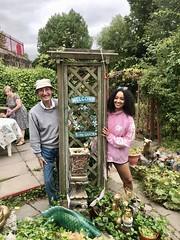 Welcome to my garden (myeralan) Tags: isabella richard family shrewsbury shropshire