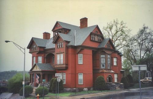 Amsterdam New York -  Greene Mansion - 92 Market St - Historic