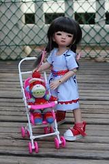 Gala....My Sweet Adori (dambuster01) Tags: harucasting adori milkytan yosd tiny tinies bjd resin jointed doll